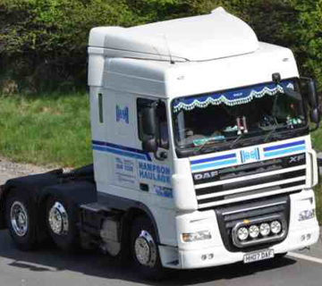 Hampson Haulage - Articulated Vehicles