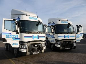 Hampson Haulage - New Renault Trucks